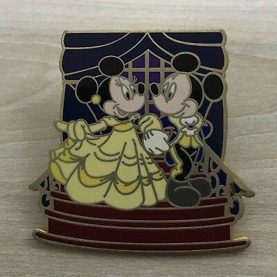 Tokyo Disneyland Japan Mickey Minnie as Beauty & The Beast Disney Couples Pin