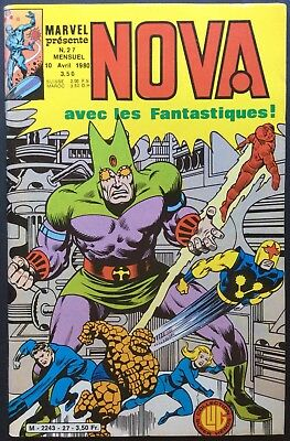 NOVA Éditions Lug n°27 du 10 avril 1980 Excellent état