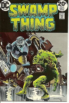 Wrightson Art! Swamp Thing #6 Vf-Nm Dc 1973 All Late Great Berni Wrightson