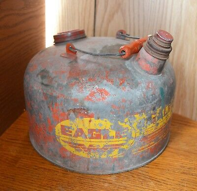 VTG EAGLE Metal Gas Can Dispenser  Model  502  2.5 Gallon?