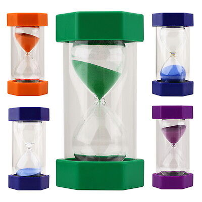 sand timers hourglass sandglass 2 3 5 10 mins kitchen cooking sand