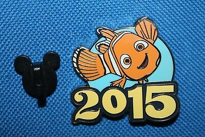 *NEMO* Finding Nemo (2015 Dated Booster Set) Walt Disney Parks Pin