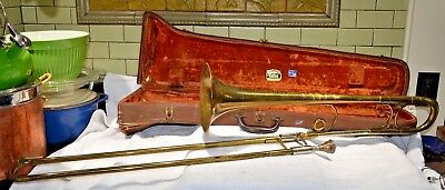 Vintage Getzen The Dude Deluxe 60 Trombone w/ Case and Mouthpiece
