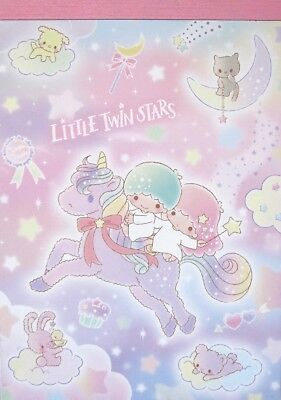 Sanrio Little Twin Stars (Hello Kitty) Twinkle Twinkle Memo Pad~KAWAII!!