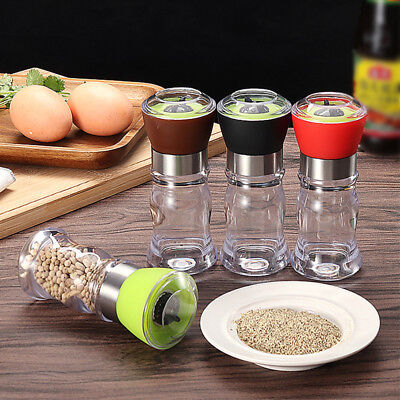 Stainless Steel Salt Pepper Mill Grinder High Quality Manual Muller Kitchen Tool