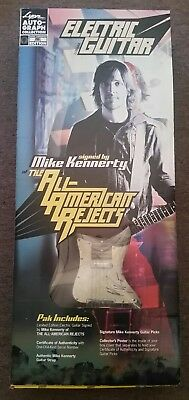 Mike Kennerty All-American Rejects Autograph Signed Electric Guitar LYON
