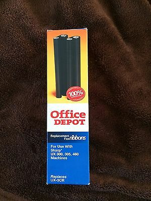Office Depot Sharp Replacement Ux-3Cr Fax Ribbons Ux 300,305,460 Machines