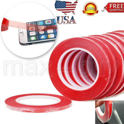 3M RED Film Double Sided Sticky Adhesive Tape For Cell Phone LCD Screen Repair