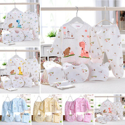 Set T-shirt Baby Infant Sleeve Newborn Outfits Clothes Tops Layette Girl Unisex