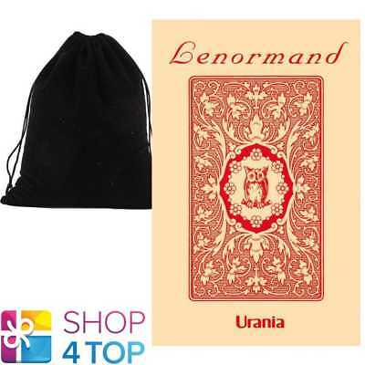 Red Owl By Mlle Lenormand 36 Cards Deck Oracle Esoteric Agm With Velvet Bag New