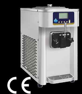 New Mini Commercial Single Flavor 7L Soft Serve Ice Cream Machine