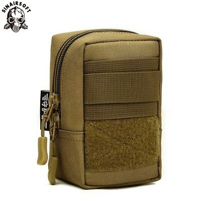 Outdoor Tactical Molle Pouch Military Waist Bag Pack Hiking Pocket Phone Case AU