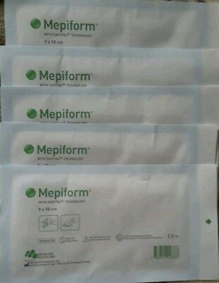 Mepiform 5 sheets 9 x 18cm NEW