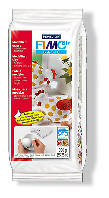 Fimo Staedtler Air Basic Drying Modelling Clay 1 kg - White
