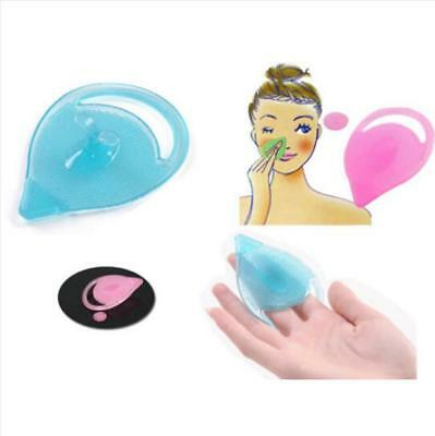 Hot Silicone Facial Face Scrub Brush Wash Pad Dirt Remover Deep Clean Tool T