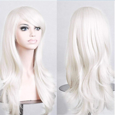 S-noilite® 23Inch Women Long Layer Full Head Wigs Cosplay Costume Party Daily Fa
