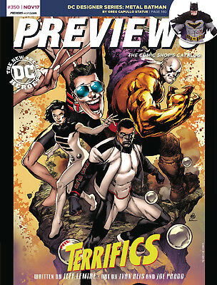 Previews Issue #350 Nov 2017 Comic Shop's Catalog Over 600 Pages