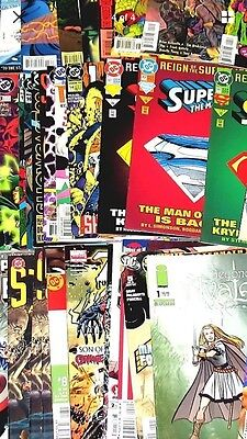WHOLESALE LOT 25 COMIC BOOKS Marvel DC Image IDW Dark Horse + More! hot