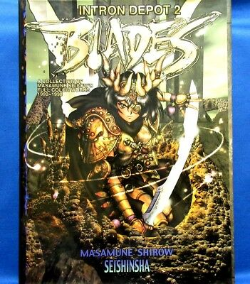Intron Depot 2 BLADES Masamune Shirow Full Color Works /Japanese Illustrations