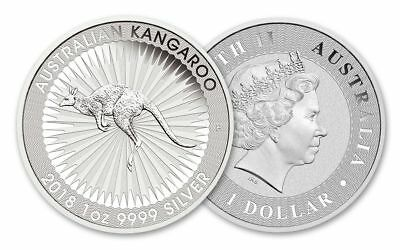 2018 Australian Emu Silver coin 99.99% Perth Mint **** LAST FEW LEFT HOT OFFER!!