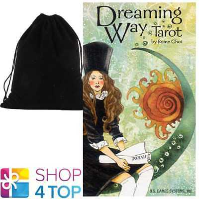 Dreaming Way Tarot Cards Deck Rome Choi Esoteric Astrology With Velvet Bag New