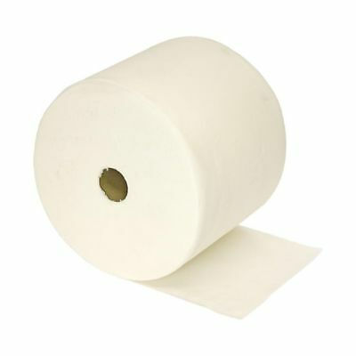 Floor Stand Wiper Rolls 2Ply White (2) Paper towel, Industrial Cleaning