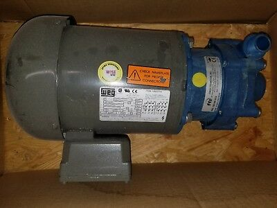 FTI Finish Thompson Pump - S/N:106148 & WEG Motor - 208-230/460 Volts