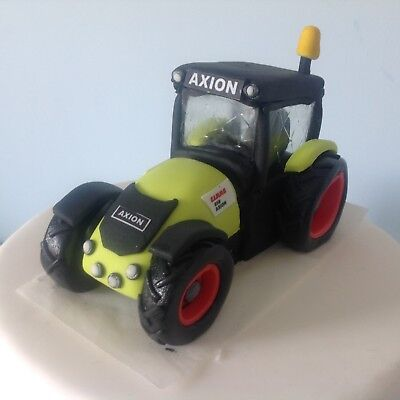 Edible TRACTOR Cake Decoration Cake Topper ANY COLOUR