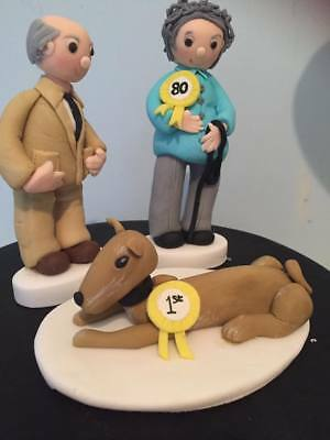 Edible CRUFTS DOG OWNER ETC Cake Decoration Cake Topper