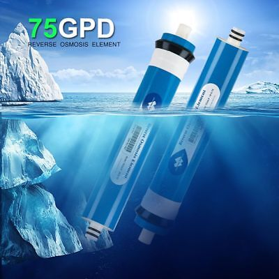 2pcs 75GPD Reverse Osmosis Water Filter Replacement for DOW RO System Household