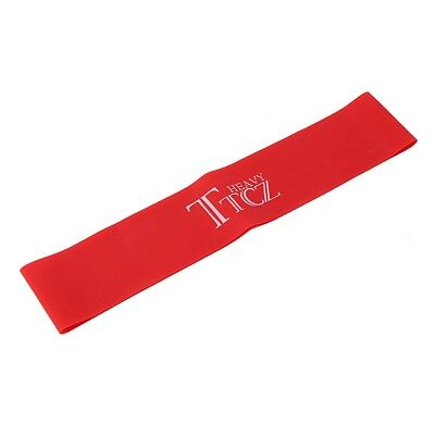 Sports Rubber Resistance Band Pull up Training Assistance Loop Red