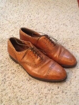 4bf13ab14a99e Alden 911 New England Medallion Tip Cap Toe Mens Leather Shoes