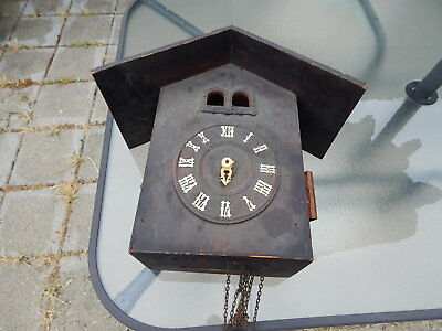 Hubert Herr Quail Cuckoo Clock For Parts or Restoration