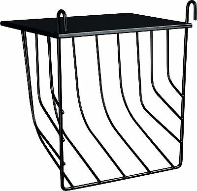 """Hanging Grass & Hay Rack with Lid Lying Surface Guinea Pig Rabbit 17cm (6.75"""")"""