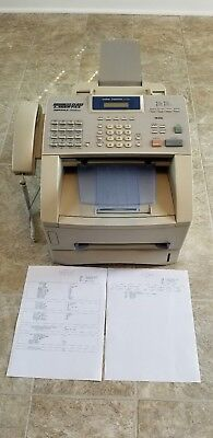 BROTHER INTELLIFAX 4750e BUSINESS CLASS LASER FAX