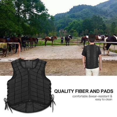 Safety Unisex Horse Riding Equestrian Vest -Protective Guard Body Protector Gear