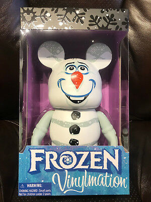 DIsney's Frozen Olaf Vinylmation 9inch New in box- MINT-FREE SHIPPING!