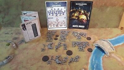 Warhammer 40k Dark Imperium Death Guard STARTER LOT (DG2)