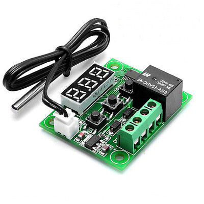 Module+Cable Digital Thermostat Module Electric Parts Reliable W1209 12V Useful