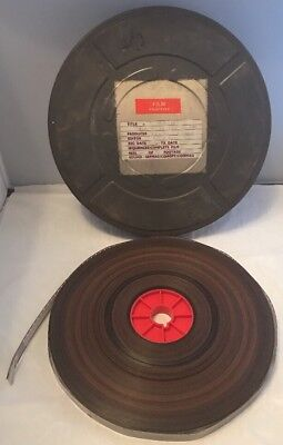 "Interesting Vintage 16mm Cine Movie Film Reel ""Lucille"" Original Print 1200ft"