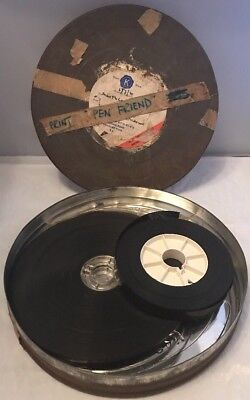 "Interesting Vintage 16mm Cine Movie Film Reel ""Pen Friend"" Film Company Archive"