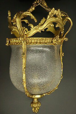 Lantern Stamped, Louis Xv Style, End 19Th - French Antique