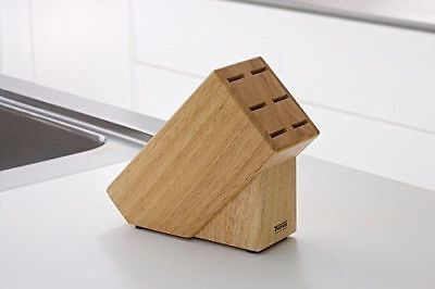 Thomas Rosenthal Group 6er Steakmesserblock aus Holz, NEU + OVP