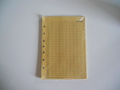 """Vintage Day Timer Monthly Expense Envelopes 6"""" X  8 1/2"""" - Dated 1984 - NIP"""