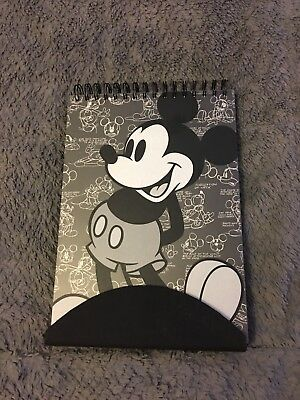Disney Theme Parks Mickey Mouse Sketchbook Set Includes Drawing Pad & Pencils