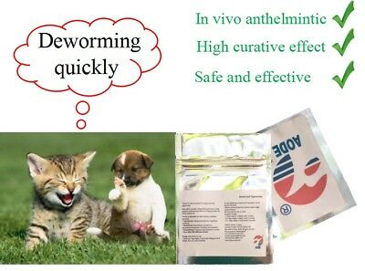 Dog Cat Pig Pet Sheep Animal Worming tablets Wormer Dewormer Health Care 12 tabs