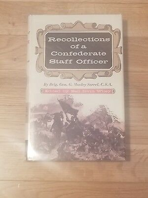 Recollections Of A Confederate Staff Officer, Hardcover