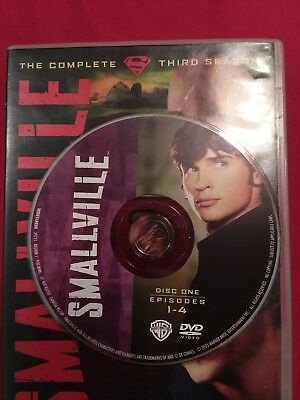 Smallville - Season 3 Disc 1 REPLACEMENT DISC only