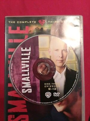Smallville - Season 3 Disc 3 REPLACEMENT DISC only