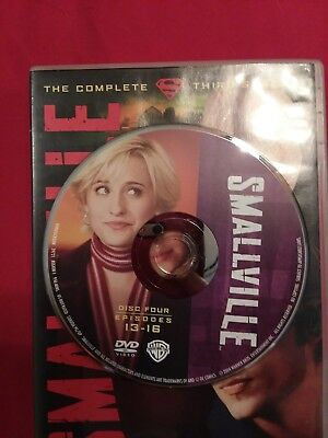 Smallville - Season 3 Disc 4 REPLACEMENT DISC only